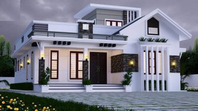 Photo of 1450 Sq Ft 2BHK Modern Single Floor Home and Free Plan