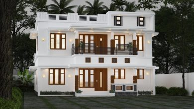 Photo of 2012 Sq Ft 4BHK Modern Two Storey Home and Free Plan