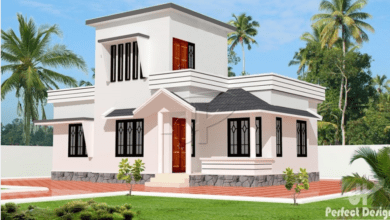 Photo of 775 Sq Ft 2BHK Traditional Mix Style Home and Free Plan, 10 Lacks