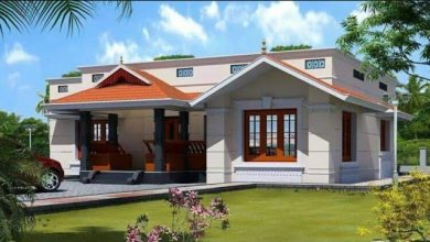 Photo of 885 Sq Ft 2BHK Traditional Style Single Floor House and Free Plan, 12 Lacks