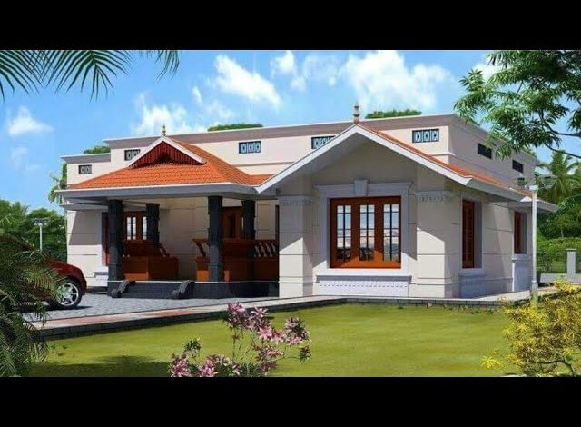 885 Sq Ft 2BHK Traditional Style Single Floor House and Free Plan, 12 Lacks