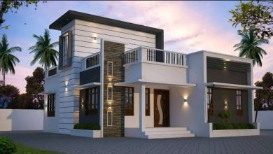 Photo of 940 Sq Ft 2BHK Modern Single-Storey Home and Free Plan, 12 Lacks