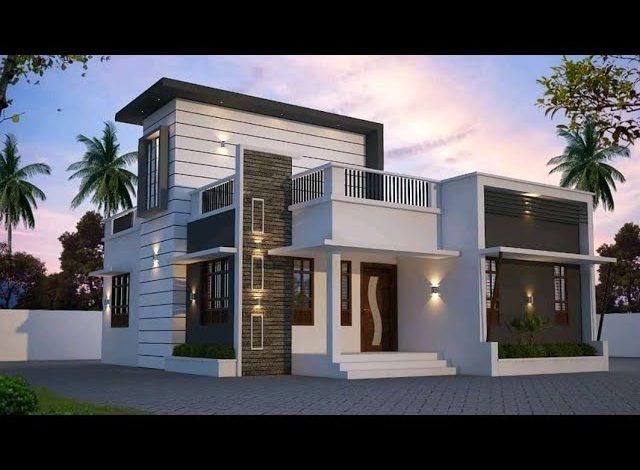 940 Sq Ft 2BHK Modern Single-Storey Home and Free Plan, 12 Lacks