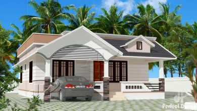 Photo of 946 Sq Ft 2BHK Traditional Style Single Floor Home and Free Plan