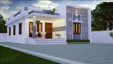 Photo of 975 Sq Ft 2BHK Contemporary Style Home and Free Plan, 13.5 Lacks