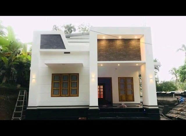 990 Sq Ft 2BHK Modern Single Floor Home and Free Plan, 15 Lacks