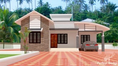 Photo of 1097 Sq Ft 3BHK Contemporary Style Home and Free Plan, 16 Lacks