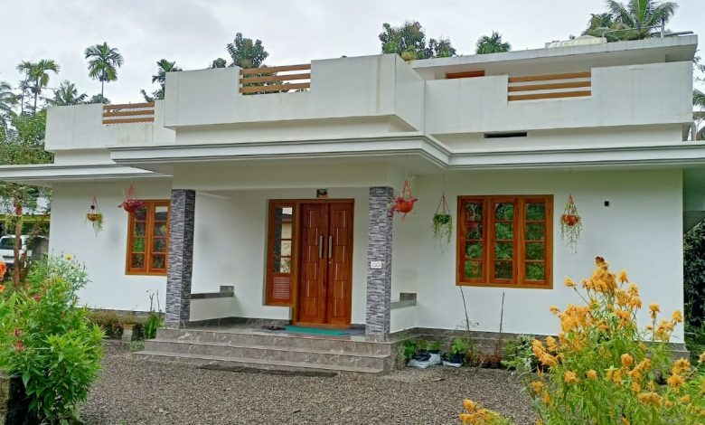 1150 Sq Ft 3BHK Beautiful Single Floor House and Free Plan, 17 Lacks