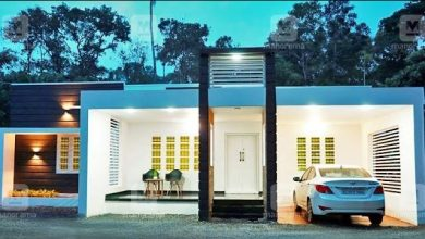 Photo of 1500 Sq Ft 4BHK Box Type Single Storey Home and Free Plan