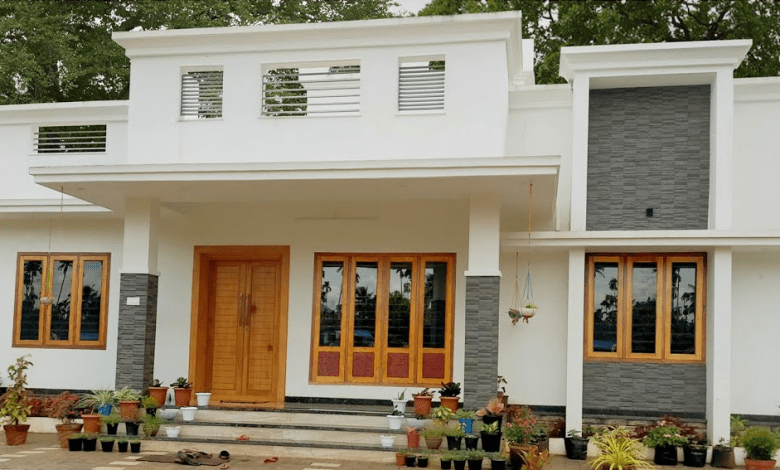 1534 Sq Ft 3BHK Modern Simple House and Free Plan, 25 Lacks