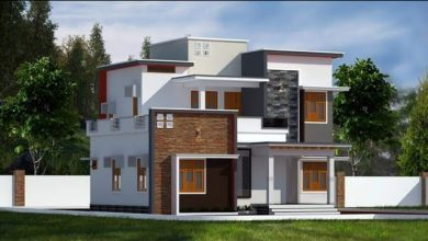 Photo of 1688 Sq Ft 3BHK Flat Roof Two Floor Home and Free Plan