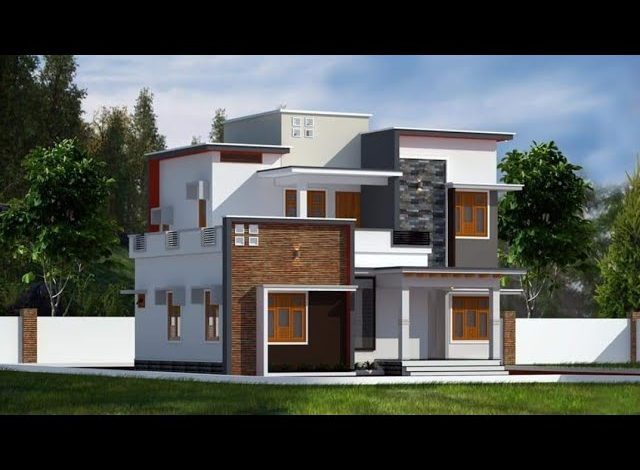 1688 Sq Ft 3BHK Flat Roof Two Floor Home and Free Plan
