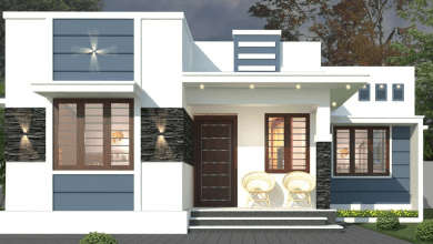 Photo of 552 Sq Ft 2BHK Modern Single Storey Home and Free Plan, 9 Lacks