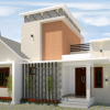 800 Sq Ft 2BHK Contemporary Style House and Free Plan, 12 Lacks