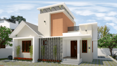 Photo of 800 Sq Ft 2BHK Contemporary Style House and Free Plan, 12 Lacks