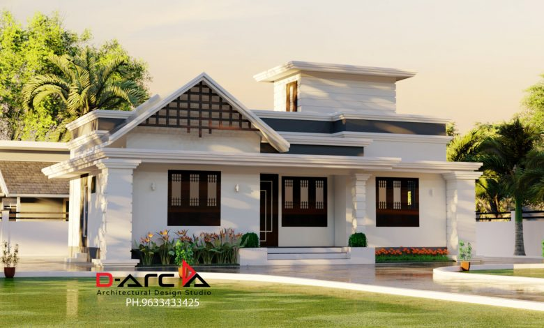 842 Sq Ft 2BHK Beautiful Single Floor Home and Free Plan, 15 Lacks