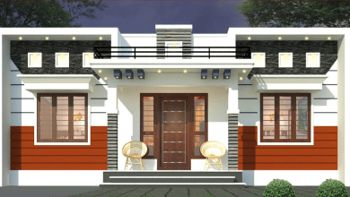 Photo of 843 Sq Ft 3BHK Contemporary Style Home and Free Plan, 14 Lacks