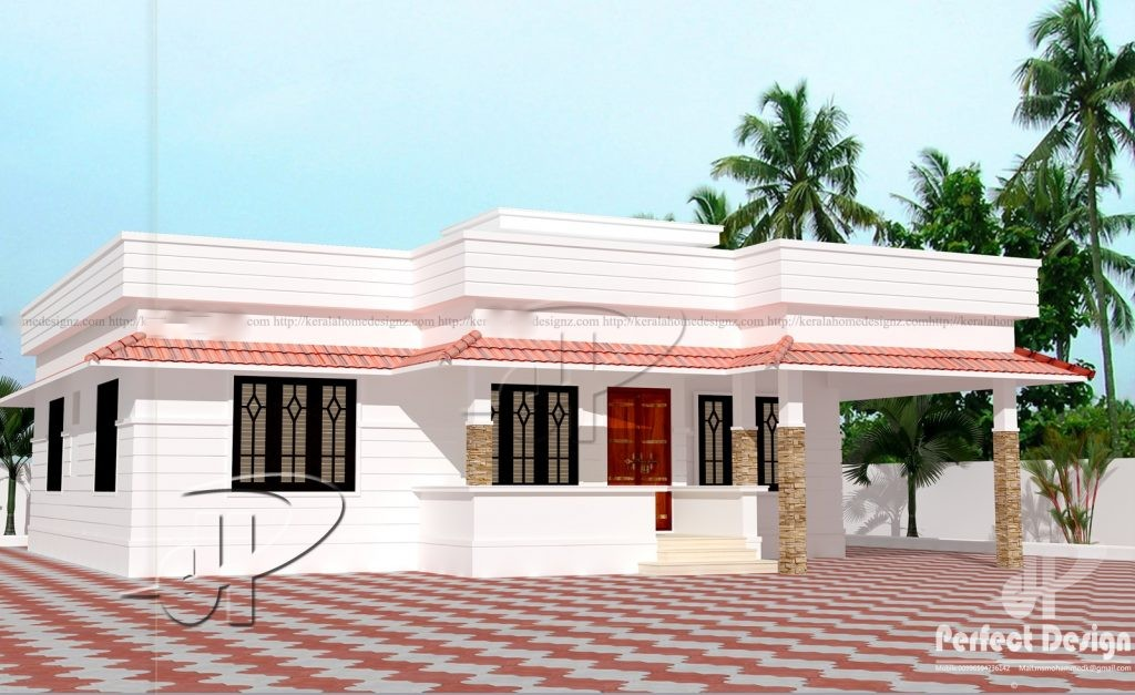 851 Sq Ft 2BHK Beautiful Single Floor House and Free Plan, 12 Lacks