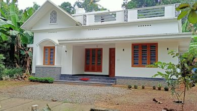 Photo of 1084 Sq Ft 3BHK Modern Single Floor House and Free Plan, 16 Lacks