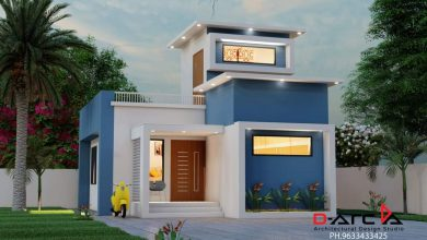 Photo of 625 Sq Ft 2BHK Modern Single Storey Home and Free Plan, 10 Lacks