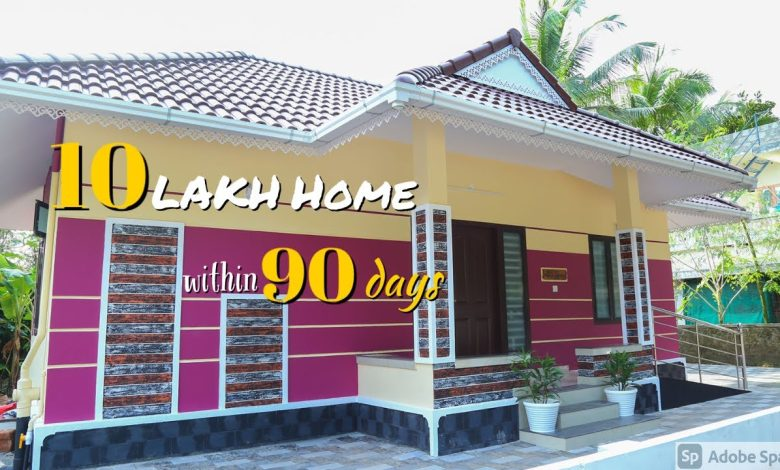 643 Sq Ft 2BHK Beautiful Traditional Style House, 10 Lacks with Interior