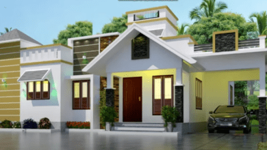 Photo of 950 Sq Ft 2BHK Modern Single Storey Home and Free Plan